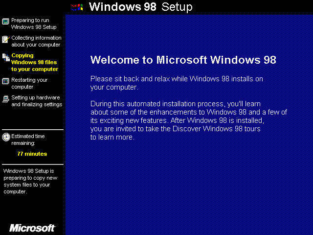 an introduction to the history of windows 98 security What is the history of microsoft windows at the expense of the greater stability and security of windows nt windows 98 was released as an upgrade to.