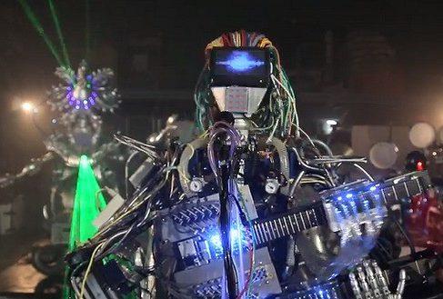 Кибермузыканты Z-Machines зажигают в ночных клубах Японии