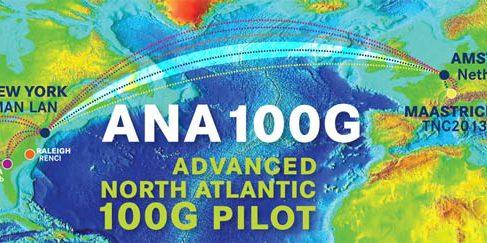 100Ггб трансатлантический интернет канал проходит испытание гиками