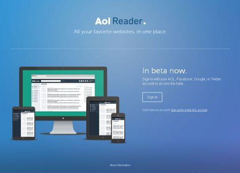 AOL запустила aналог Google Reader в бета версии