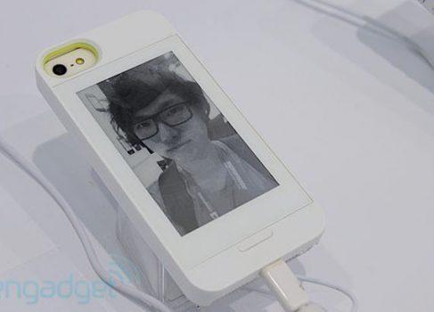 Gajah анонсирует E Ink чехлы для iPhone 5 и Galaxy Note II