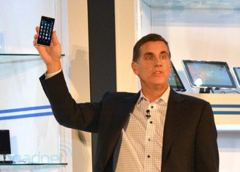 Intel продемонстрировал новый процессор для смартфонов Merrifield