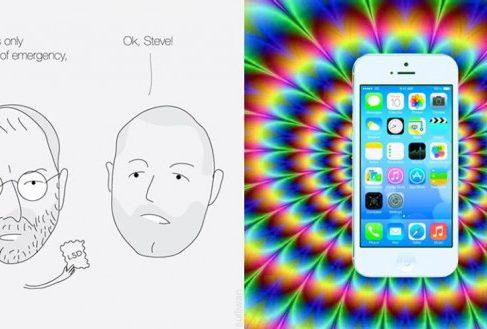 Фотожабы с дизайном iOS 7 [юмор]