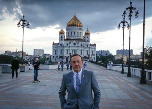 Кевин Спейси завёл себе Вконтакте