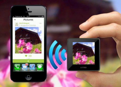 Новая прошивка для камеры Lytro: приложение для iOS, поддержка Wi-Fi и анимированных GIF