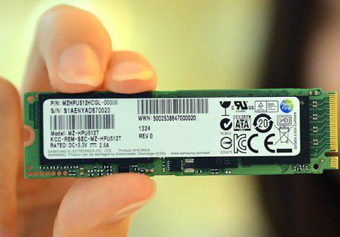 Samsung начала выпуск новых SSD на базе шины PCI Express