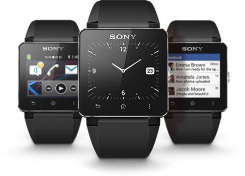 Sony официально представила часы SmartWatch 2