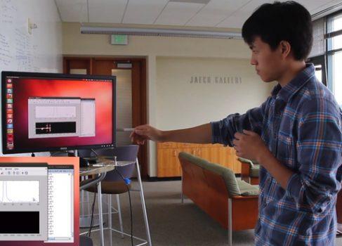 Создан интерфейс, воспринимающий жесты с помощью Wi-Fi