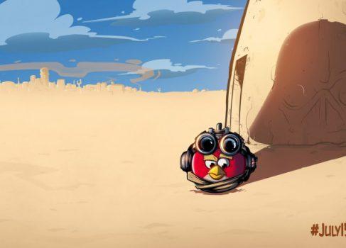 15 июля Rovio намерена представить сиквел Angry Birds: Star Wars