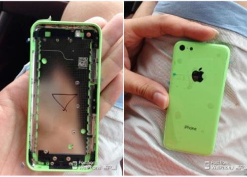 Новые фотографии корпуса «дешёвого» iPhone