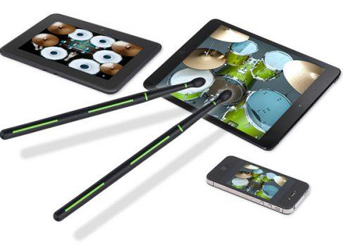 Drummerz — барабанные палочки для планшета
