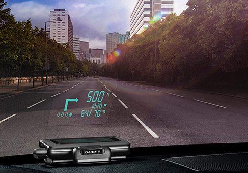 Garmin выпустил проекционный интерфейс для автомобилей