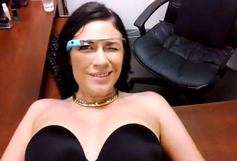 Первое порно-видео снятое Google Glass