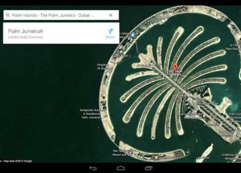 Обновленные Google Maps для Android появились на Google Play