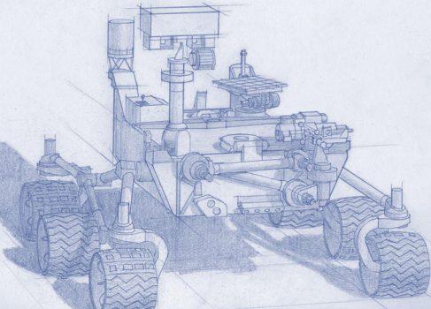 NASA планирует доставить на Землю марсианский грунт к 2020 году