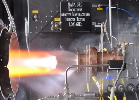 NASA тестирует инжектор ракетного двигателя, напечатанный на 3D принтере