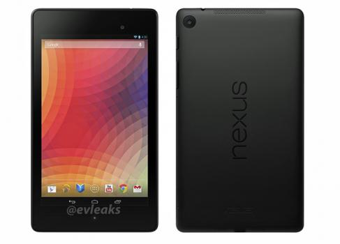 Новое поколение Nexus7 утекло в сеть