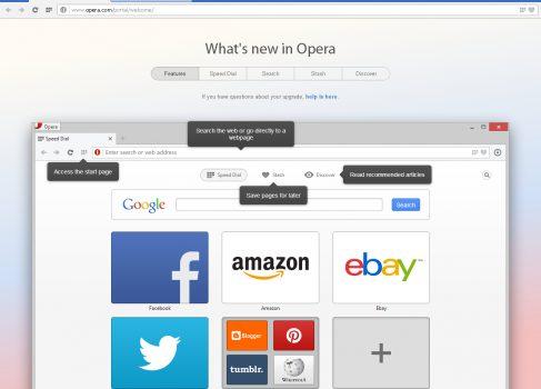 Opera 15 вышла на новом движке Blink (ex-Webkit)