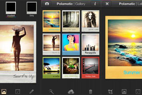 Polaroid выпустил приложение Polamatic для Android
