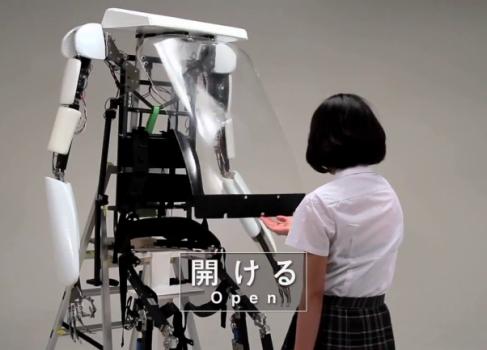 Sagawa Electronics ищет покупателей на 2,5-метровый экзоскелет [видео]