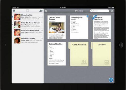Редактор Quip – текстовый и по-настоящему мобильный