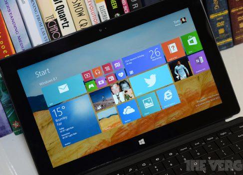 Windows 8.1 будет доступна производителям ПК в конце августа