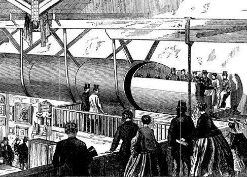 Как в Нью-Йорке XIX века чуть не построили пневматическое метро