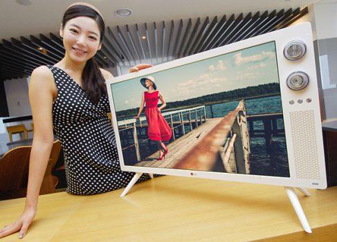LG хочет выпускать LCD телевизоры в стиле 70-ых