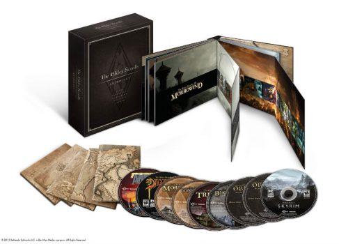 Bethesda выпустит антологию The Elder Scrolls
