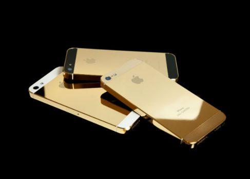 iPhone 5S получит золотистый корпус и 128Gb памяти