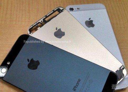 Корпус «золотого» iPhone 5S засветился в сети
