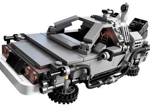 Lego выпустила копию DeLorean из фильма «Назад в будущее»