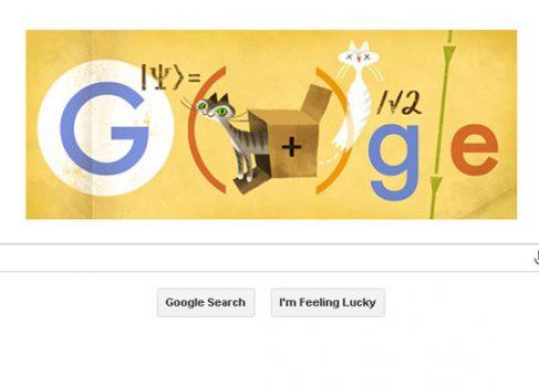 Google посвятила новый дудл Эрвину Шрёдингеру
