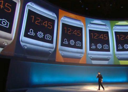 Samsung представила часы Galaxy Gear