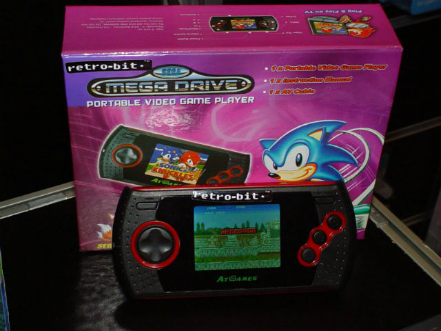 Mega Drive Portable AT Games