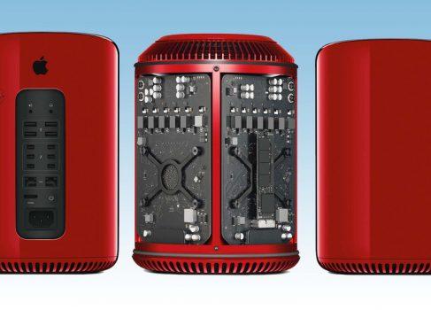 Специальная версия Red Mac Pro от Джони Айва
