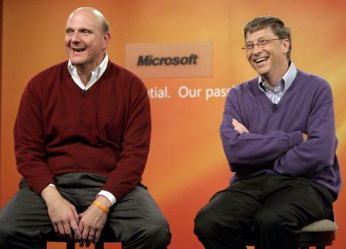 Совет директоров Microsoft советует переизбрать Гейтса и Баллмера