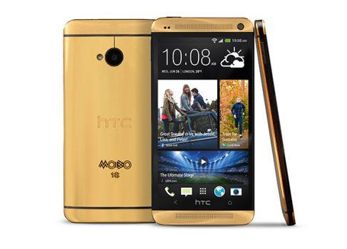 Золотой HTC One за $4400