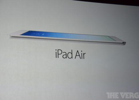 iPad Air: характеристики, цена и сроки поставки