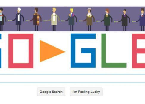 Лучший дудл от Google – к 50тилетию сериала «Доктор Кто»