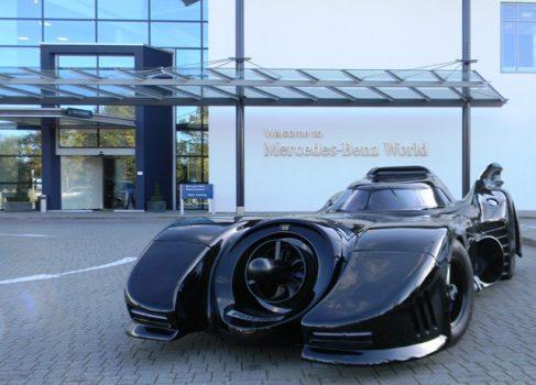 Реплика бэтмобиля Майкла Китона будет продана на аукционе Mercedes-Benz World