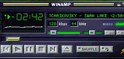 Медиа-плейер Winamp завершает работу