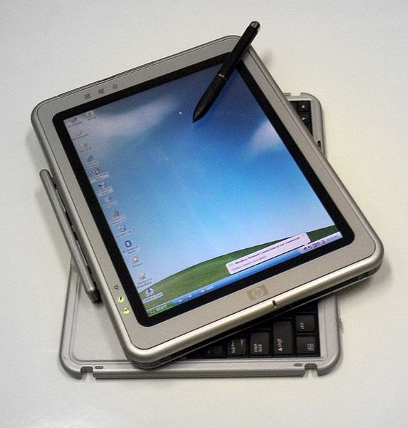 HP Compaq tablet PC