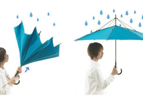 Японский дизайнер усовершенствовал зонтик