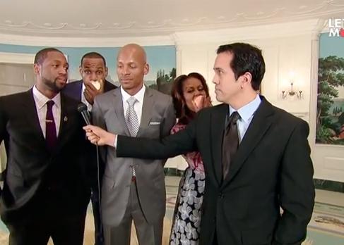 Мишель Обама в эпическом промо видео Miami Heat