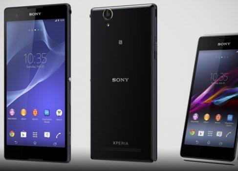 SONY XPERIA T2 Ultra и SONY XPERIA E1 два новых смартфона для развивающихся рынков