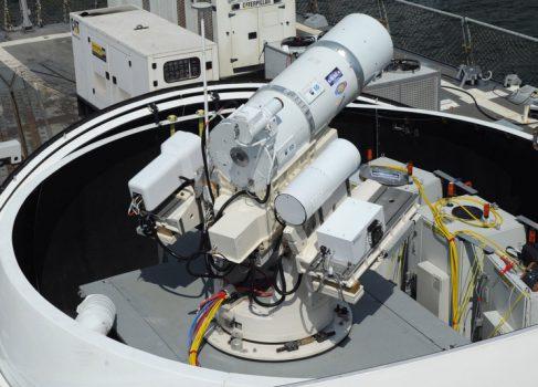 ВМС США планируют развернуть лазерное оружие летом 2014 года