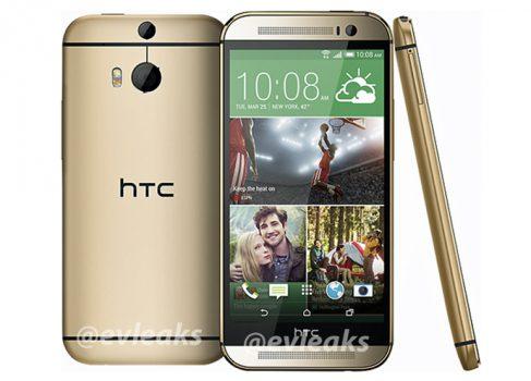 Обновленный HTC One (M8) утек в сеть плюс немного характеристик
