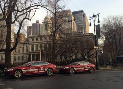Tesla Model S преодолел США за 76 часов