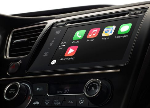 Apple представила CarPlay Infotainment System